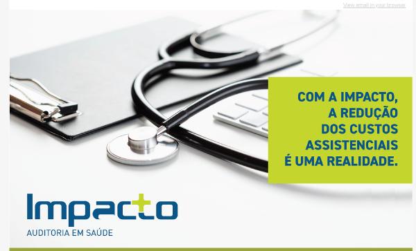 Com a IMPACTO, a redução dos custos assistenciais é uma realidade